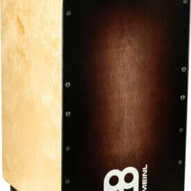 Meinl Percussion Woodcraft Cajon, Espresso Burst
