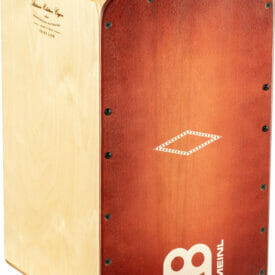 Meinl Percussion Artisan Edition Cajon Solea Line, Dark red Burst