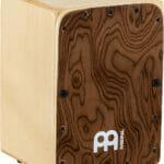 Meinl Percussion Mini Cajon, Burl Wood