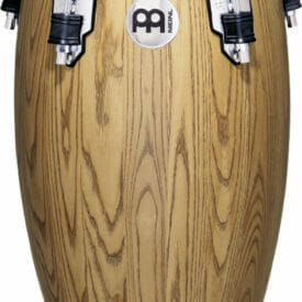 "Meinl Percussion 11"" Quinto Woodcraft Traditional Series Conga, Zebra Finish Ash"