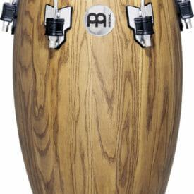 "Meinl Percussion 11 3/4"" Conga Woodcraft Traditional Series Conga, Zebra Finish Ash"