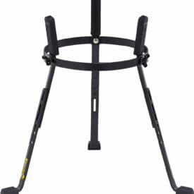"""Meinl Percussion 11 3/4"""" Steely II Conga Stand, For Marathon Classic, Designer And Luis Conte Artist Series, Black"""