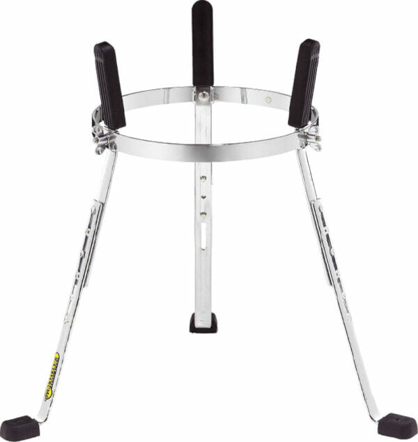 """Meinl Percussion 11 3/4"""" Steely II Conga Stand, For Marathon Exclusive Series, Chrome"""