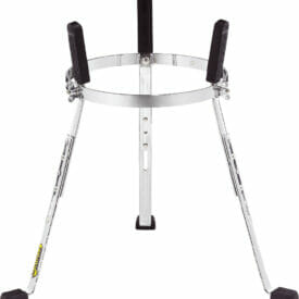 """Meinl Percussion 10"""" Steely II Conga Stand For Floatune Series, Chrome"""