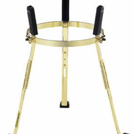 """Meinl Percussion 11 3/4"""" Steely II Conga Stand For Marathon Exclusive Series, Gold"""