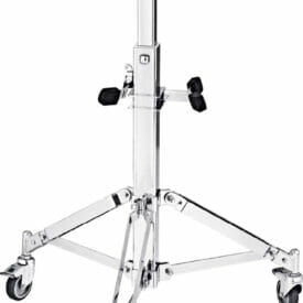 Meinl Percussion Professional Conga Double Stand With Wheels, Chrome