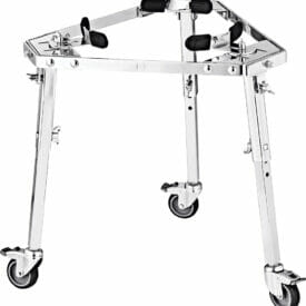 Meinl Percussion Professional Conga Stand With Wheels, Chrome