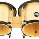Meinl Percussion Headliner Series Wood Bongo, Natural