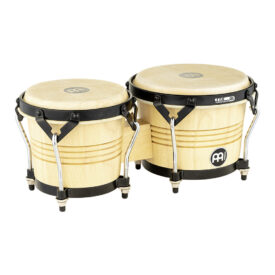 Meinl Percussion Artist Series Wood Bongo Luis Conte, Natural