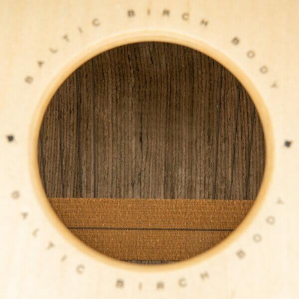 Meinl Percussion Woodcraft Professional Cajon, Makah-Burl