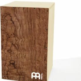 Meinl Percussion Deluxe Make Your Own Cajon, Burl Wood