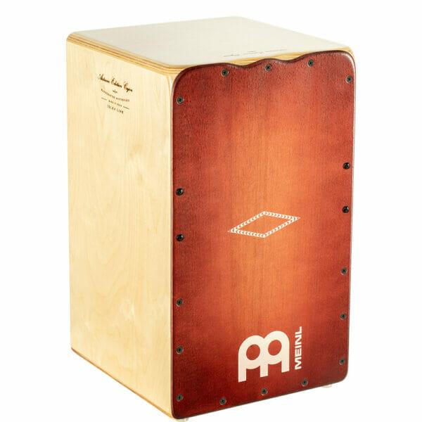 Meinl Percussion Artisan Edition Cajon Solea Line, Dark red Burst