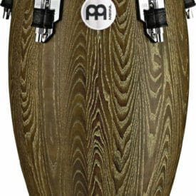 """Meinl Percussion 11"""" Quinto Woodcraft Series WCO Conga, Vintage Brown"""