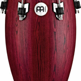 """Meinl Percussion 11 3/4"""" Conga Woodcraft Series WCO Conga, Vintage Red"""