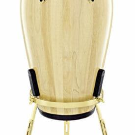 "Meinl Percussion 11 3/4"" Conga Marathon Exclusive Series Conga, Gold, True Skin Buffalo Head"
