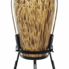 "Meinl Percussion 11 3/4"" Conga Marathon Designer Series Conga, True Skin Buffalo Head"
