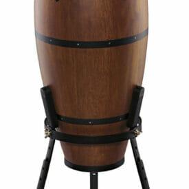 "Meinl Percussion 10"" Nino Headliner Traditional Series Conga, Walnut Brown"