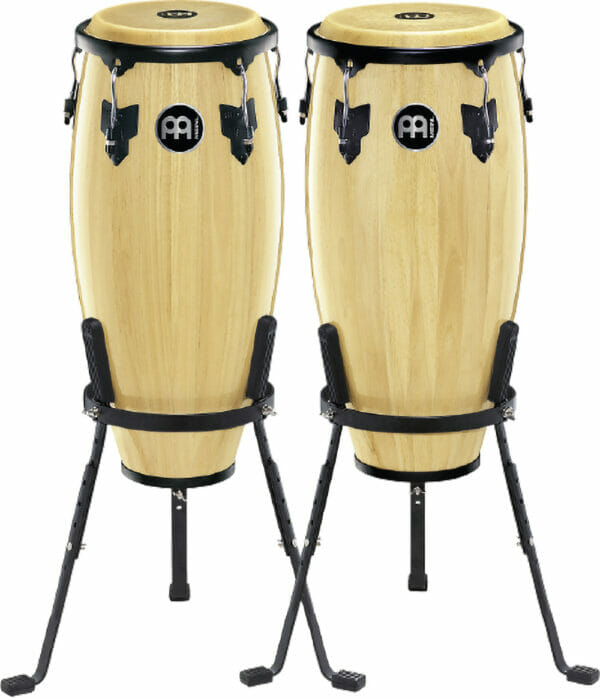"Meinl Percussion 10"" & 11"" Headliner Series Conga Set, Natural"