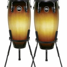 "Meinl Percussion 10"" & 11"" Headliner Series Conga Set, Vintage Sunburst"