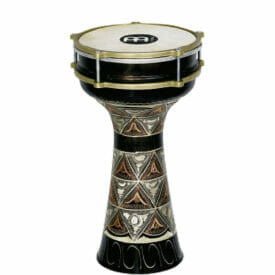 """Meinl Percussion 7 1/2"""" Copper Darbuka, Hand Engraved"""