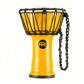 "Meinl Percussion 7"" Junior Djembe, Yellow"