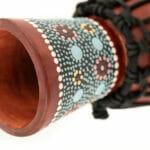 Meinl Percussion 4 1/2″ African Style Mini Djembe, Flower Design