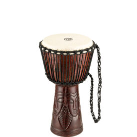 """Meinl Percussion 10"""" Professional African Style Djembe, African Queen Carving"""