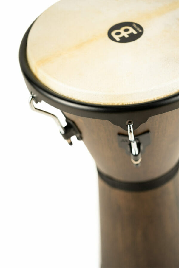 "Meinl Percussion 12 1/2"" Headliner Series Wood Djembe, Vintage Wine Barrel"