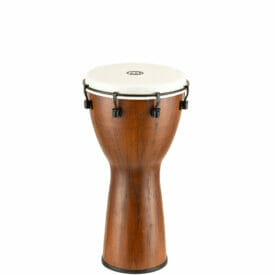"Meinl Percussion 10"" Alpine Series Djembe, Synthetic Head, Barnwood"