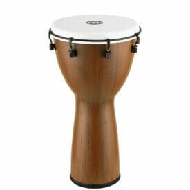 "MEINL Percussion Alpine Series Djembe, 12"", Synthetic Head, Barnwood"