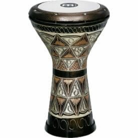 """Meinl Percussion 8 1/2"""" Copper Doumbek, Hand Engraved, Synthetic Head"""
