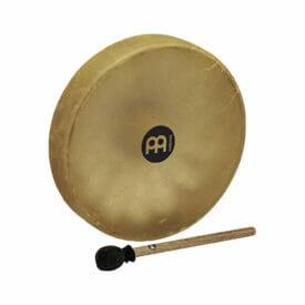 "Meinl Percussion 15"" Native American-Style Hoop Drum, Buffalo Head"