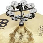 Meinl Percussion 5″ Headliner Series Hihat Tambourine, Dual Row, Stainless Steel Jingles