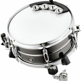 """Meinl Percussion Backbeat Tambourine, For 10"""" - 12"""" Drums, Stainless Steel Jingles"""
