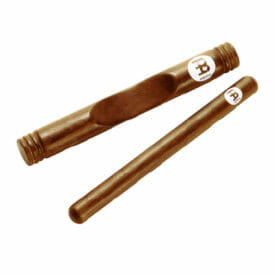 Meinl Percussion Wood Claves African, Solid Select Hardwood