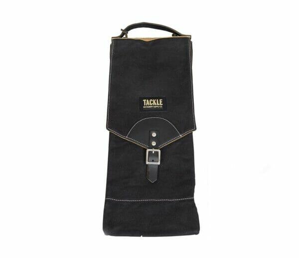 Tackle-Waxed-Canvas-Compact-Stick-Bag-Black-1